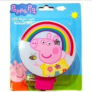 💗NEW 🐷 Peppa Pig LED night light